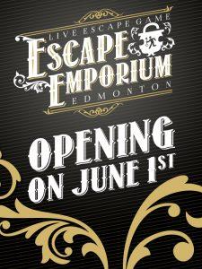 escape emporium opening june 1st